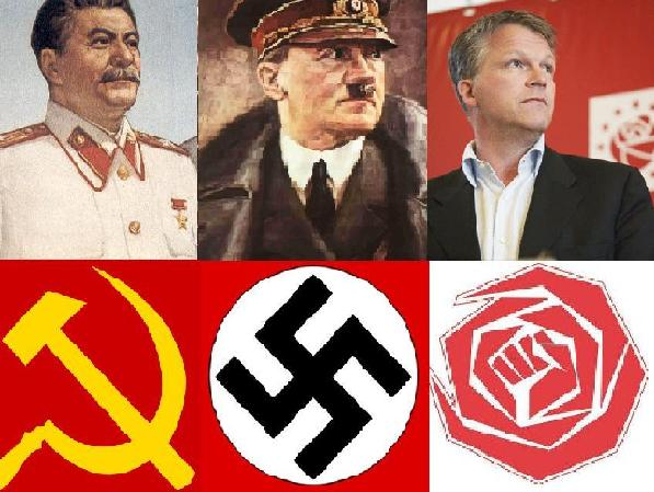 Driesocialistischepoliticilogos