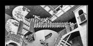 Esher verwarrend trappenhuis