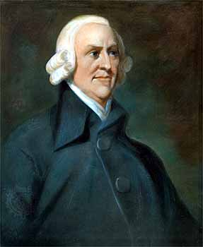 Afbeelding Adam Smith via vrijspreker.nl