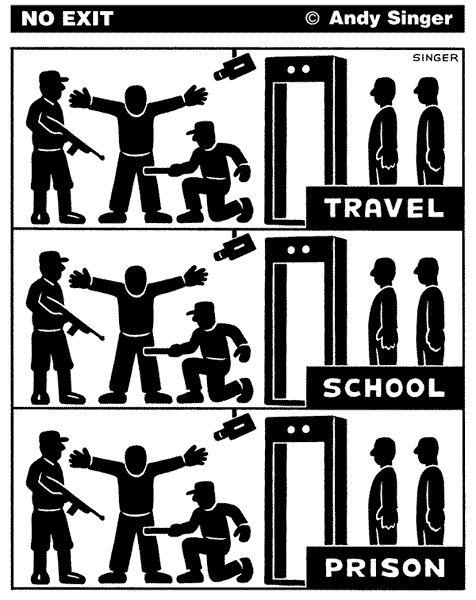 Reizen, school, gevangenis