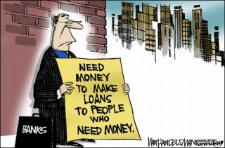 Banb_NeedMoney cartoon