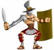 Macht-kleding-zwaard