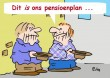 Pensioenplan-cartoon