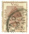 Oranjevrijstaat-postzegel