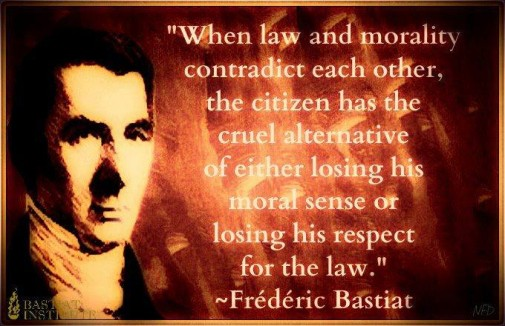 HOWARD_Bastiat_wet-moraal