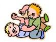 Goed Gedrag vechtende-mensen-cartoon