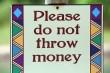Geld smijten