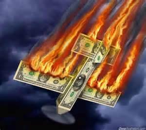 Ondergang dollar