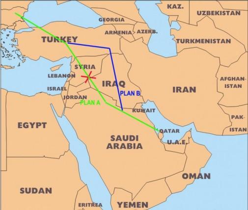 Qatar Gas Lines to Europe_0_0