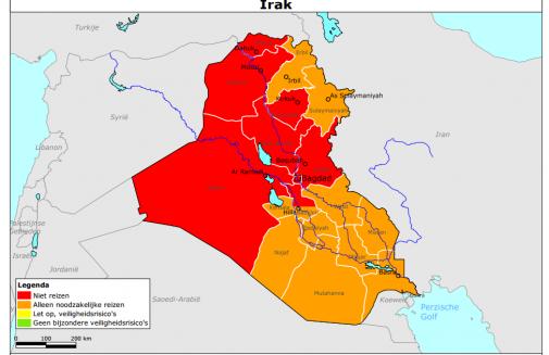 reisadvies Irak