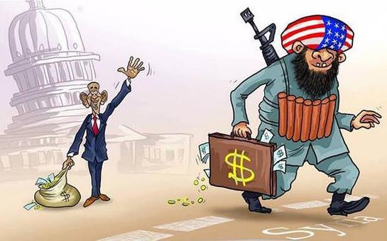 AL-Qaida gefinancierd door US