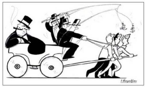 hofnar de koets der bankiers