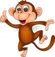 COLLECTIEF_aapje15379410-dancing-monkey-met-duim-omhoog