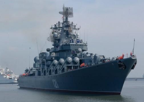 Russisch oorlogschip