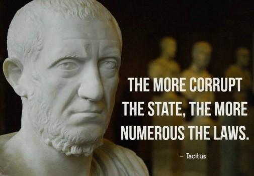 tacitus_corrupt_numerous_laws