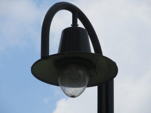een heel duur lampje