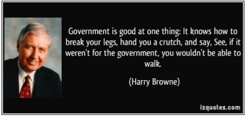 Harry Browne break your legs