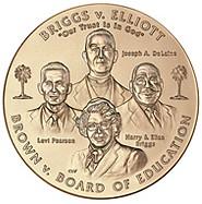 2003_Brown_et_al._v._the_Board_of_Education_of_Topeka_et_al._Congressional_Gold_Medal_front