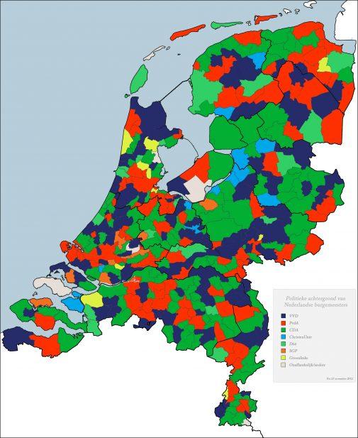 Nederland_Burgemeesters