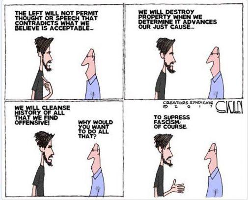 Left logic