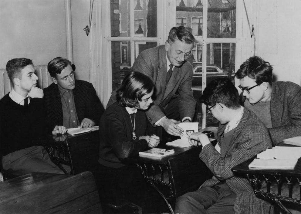 Winter  1941: de  Amsterdamse gymnasia in de greep van een nationaal-socialist.